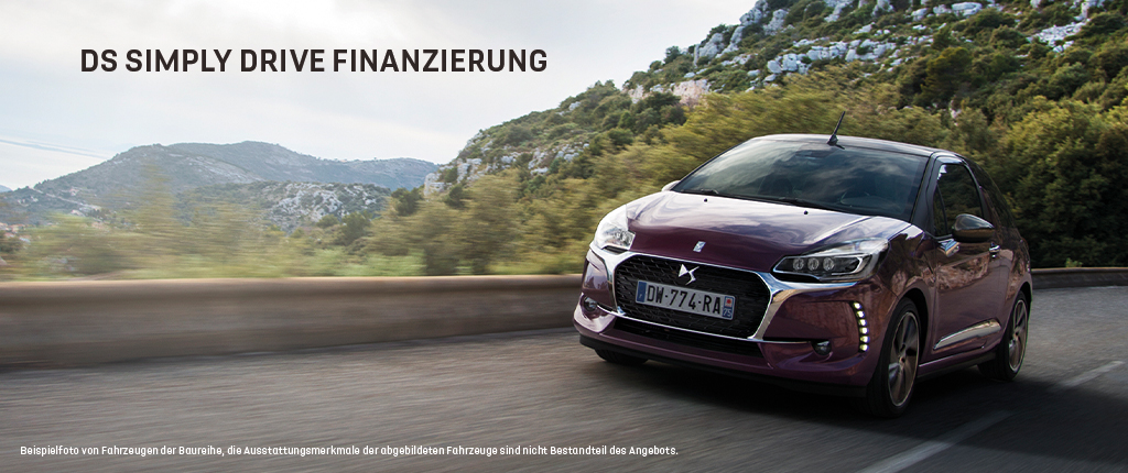 DS Simply Drive Finanzierung